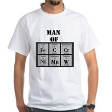 Man of Steel Periodic Elements T-Shirt