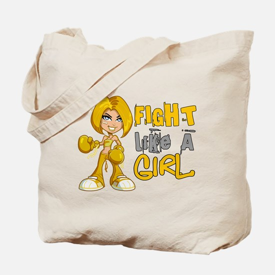 Fight Like a Girl 42.8 COPD Tote Bag
