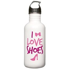 I LOVE SHOES Water Bottle