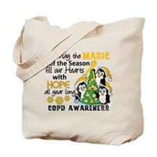 Christmas Penguins COPD Tote Bag