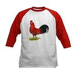 buttercup Rooster Kids Baseball Jersey