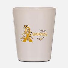 Awareness 6 COPD Shot Glass