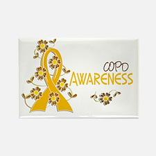 Awareness 6 COPD Rectangle Magnet