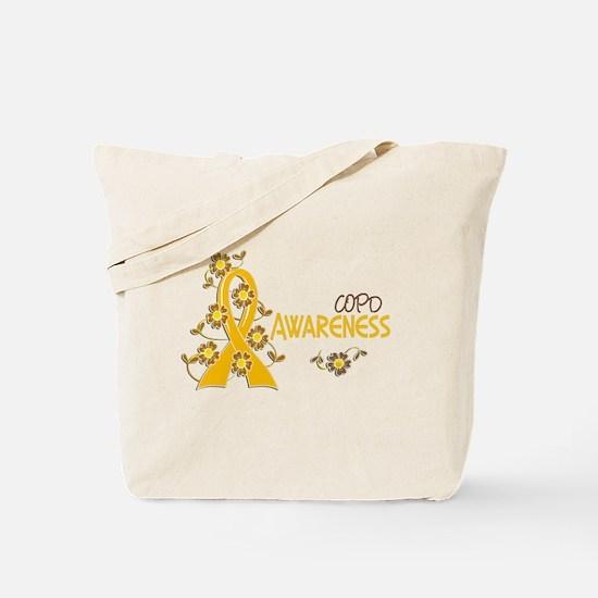 Awareness 6 COPD Tote Bag