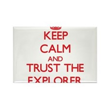 Keep Calm and Trust the Explorer Magnets