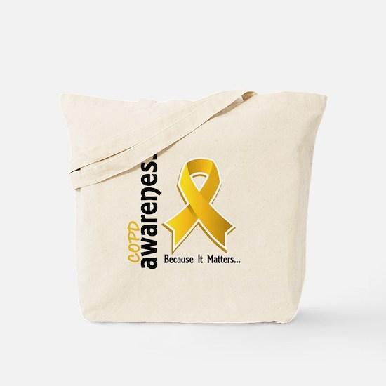 Awareness 5 COPD Tote Bag