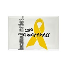 Awareness 1 COPD Rectangle Magnet
