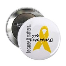 "Awareness 1 COPD 2.25"" Button (10 pack)"