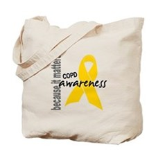 Awareness 1 COPD Tote Bag