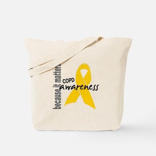 Awareness 1 COPD Tote Bag