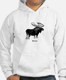 Bull Moose (illustration) Hoodie
