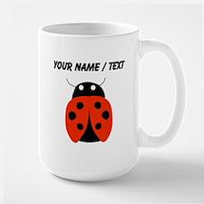 Custom Red Ladybug Mugs