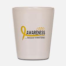 Awareness 2 COPD Shot Glass