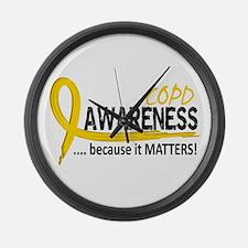 Awareness 2 COPD Large Wall Clock