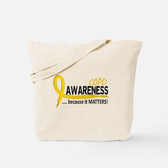 Awareness 2 COPD Tote Bag