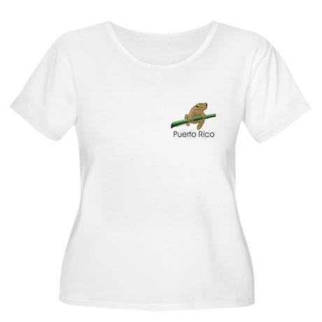 Coqui Boricua Women's Plus Size Scoop Neck T-Shirt