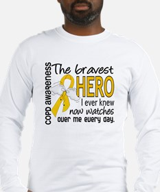 Bravest Hero I Knew COPD Long Sleeve T-Shirt