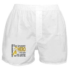 Bravest Hero I Knew COPD Boxer Shorts