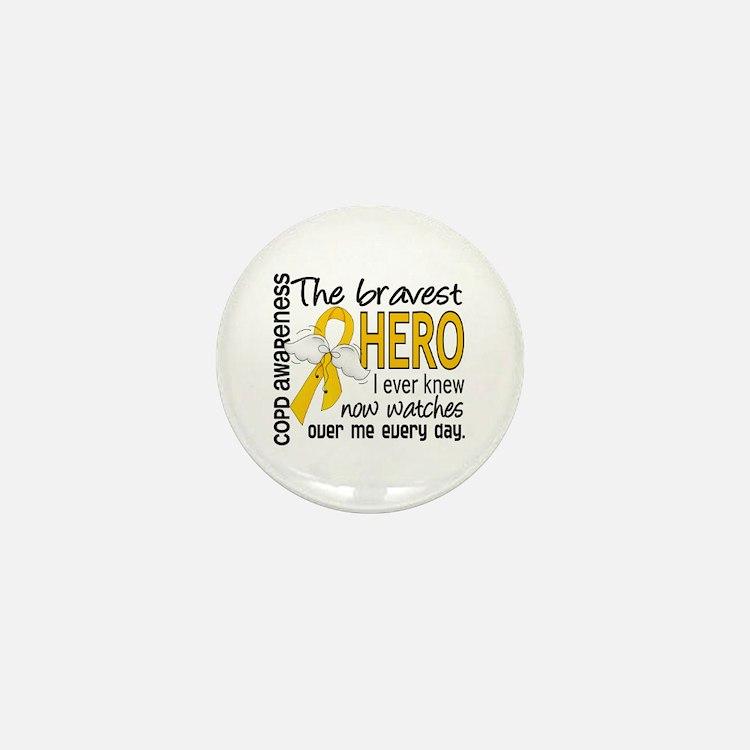 Bravest Hero I Knew COPD Mini Button