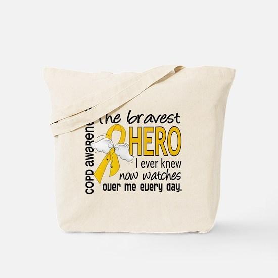Bravest Hero I Knew COPD Tote Bag