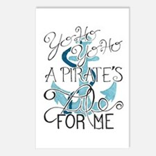A Pirate'S Life For Me Postcards (Package Of 8) Po