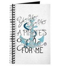 A Pirate's Life For Me Journal