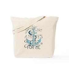 Cute Letter Tote Bag
