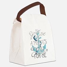 Cute The pirate king ship sail Canvas Lunch Bag