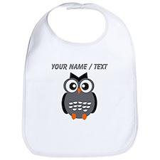 Custom Black Owl Bib