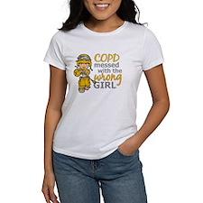 Combat Girl COPD Tee