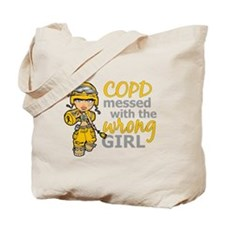 Combat Girl COPD Tote Bag