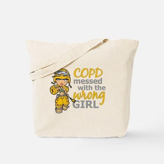 Combat Girl COPD Tote Bag