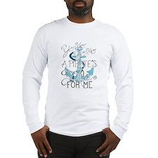 Cute Yo ho ho Long Sleeve T-Shirt