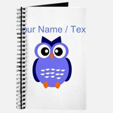 Custom Blue Owl Journal