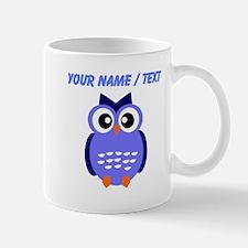 Custom Blue Owl Mugs
