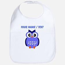 Custom Blue Owl Bib