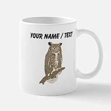 Custom Eurasian Eagle-Owl Mugs