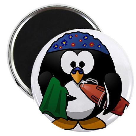 Penguin-Cartoon 009 Magnet