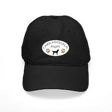 Labradoodle Mom Oval Baseball Hat