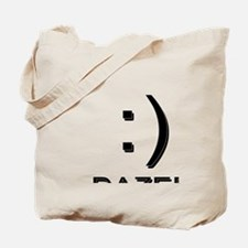 Smiley Face Dazed  Tote Bag