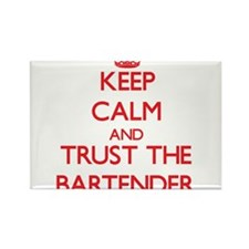 Keep Calm and Trust the Bartender Magnets