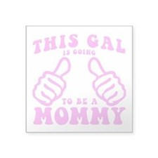 Going To Be A Mommy Sticker