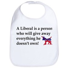anti liberal give away Bib