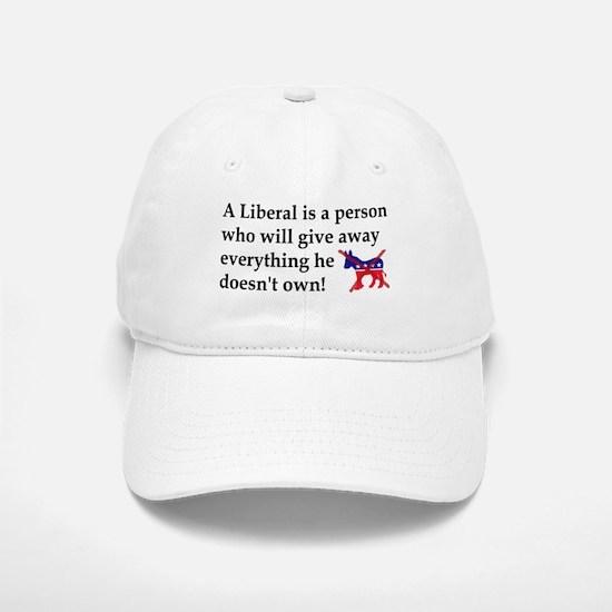 anti liberal give away Baseball Baseball Baseball Cap