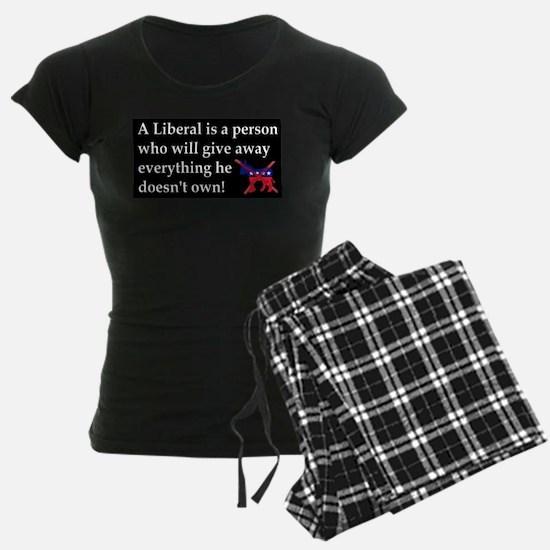 anti liberal give away Pajamas