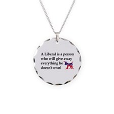 anti liberal give away Necklace