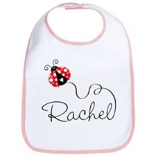 Ladybug Rachel Bib