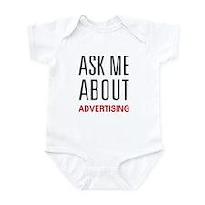 Ask Me Advertising Infant Bodysuit