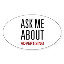 Ask Me Advertising Decal