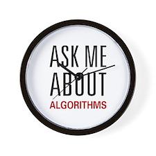 Ask Me Algorithms Wall Clock